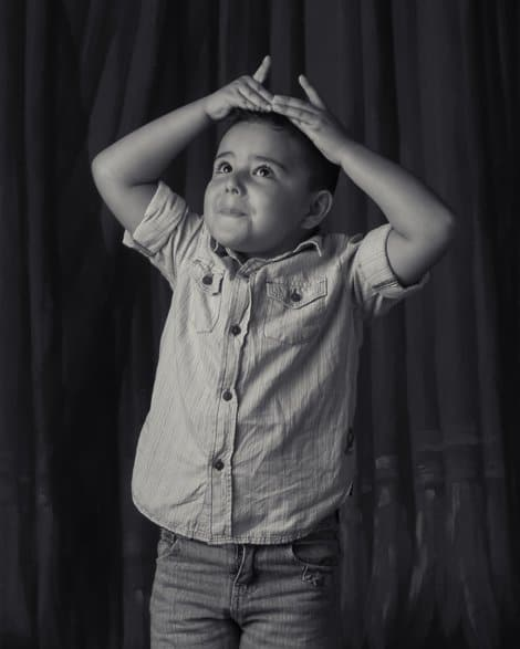 Pedro, Child, Black-and-white, BW, Portrait