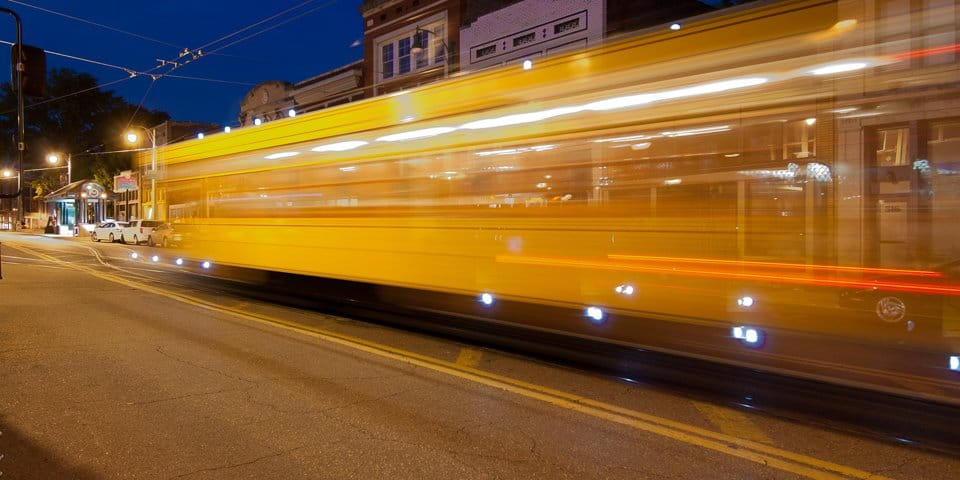 #Photography Trolley Night in South Main Area of Memphis Tennessee