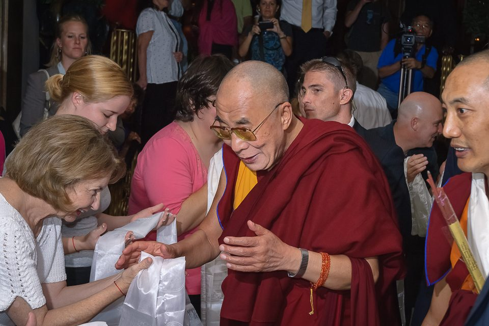 Dalai Lama, Event Photography, Safe Shot, Flash photography